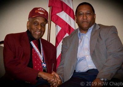 Col Curry and original airmen
