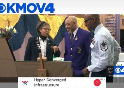 MSgt Stewart - MLK - Salute to Veterans Event - 2020